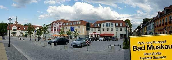Bad Muskau - Marktplatz