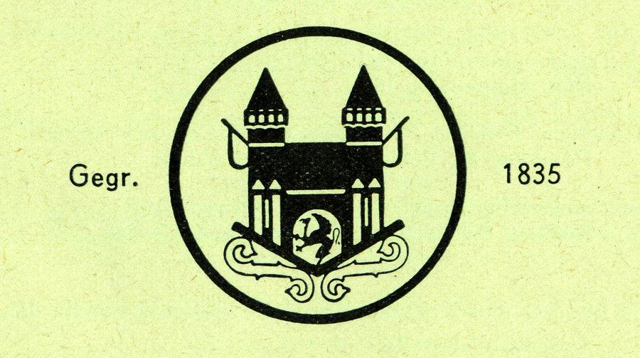 Logo der Firma Ferdinand Mampe aus Stargard, ©Stephan Becker, Brüssow
