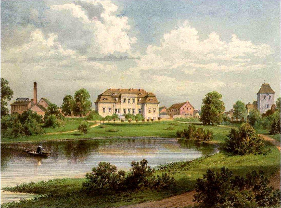 Schloss Schulzendorf, bis 1837 im Besitz der Pfuels