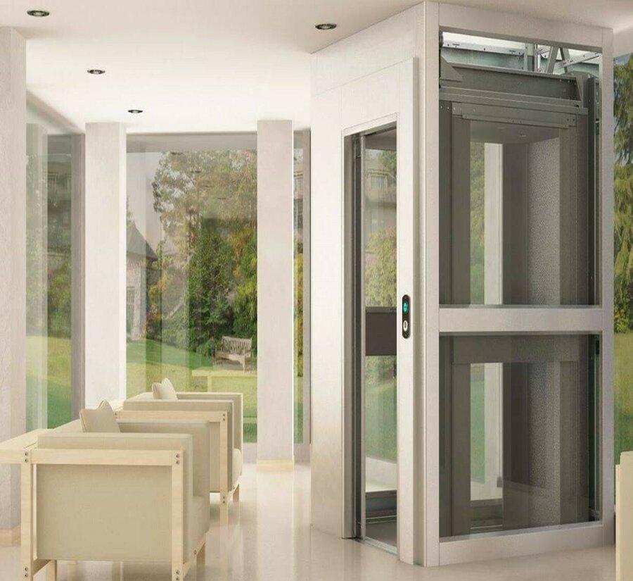 Der Homelift Monte Rosa eignet sich als stilvoller Aufzug für den Innenbereich