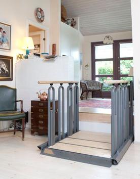 Innovative Lifttreppe FlexStep ist eine flexible 2-in-1 Lösung aus Treppe und Hebebühne