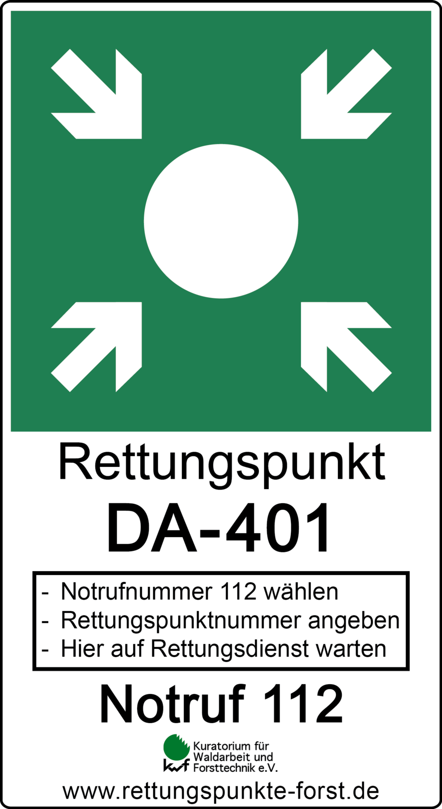 Schild_Rettungspunkt