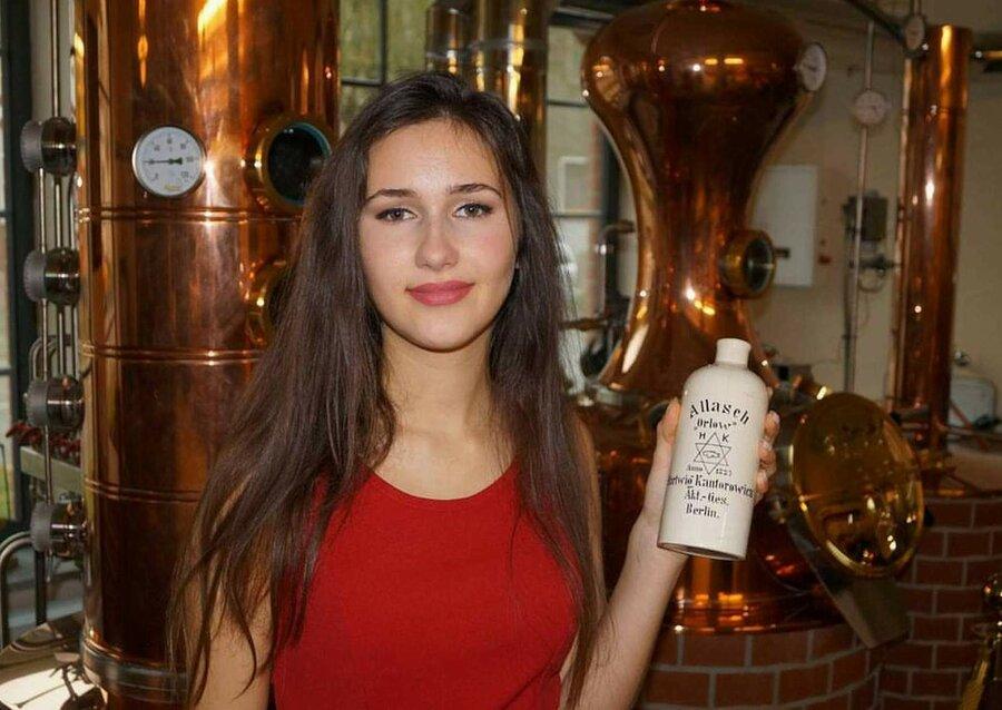 Historische Flasche von Hartwig Kantorowicz, ©Stephan Becker, Brüssow