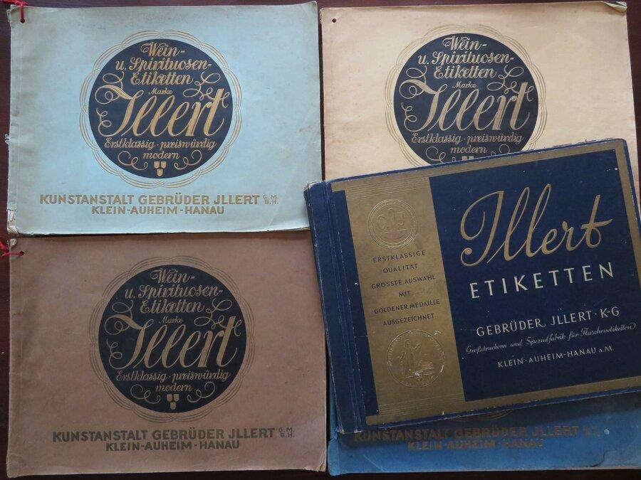 Musterbücher der Firma Illert, ©Stephan Becker, Brüssow