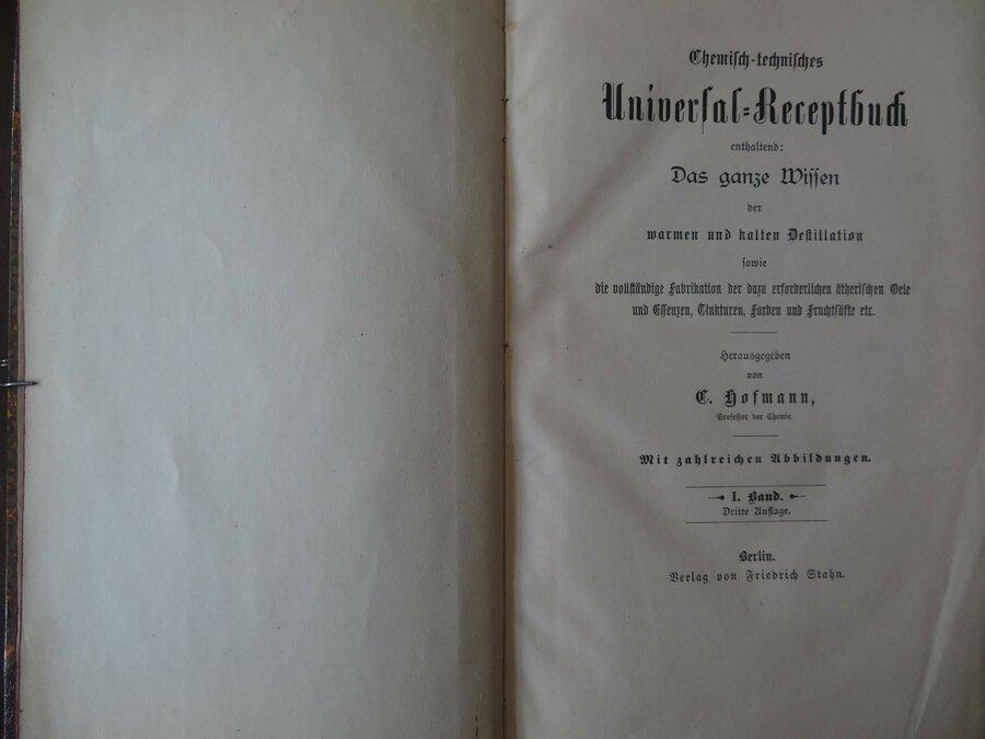 Historisches Rezeptbuch, ©Stephan Becker, Brüssow