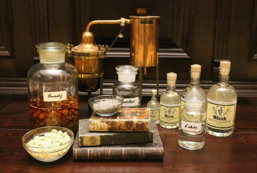 Beispielbild Destillation, ©Stephan Becker, Brüssow