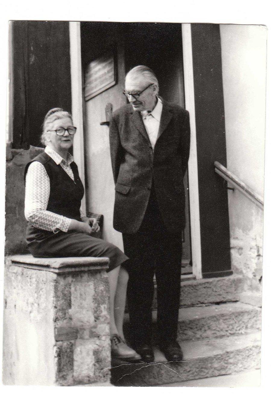 Pfarrer Heinz Koch mit seiner Frau Margarete