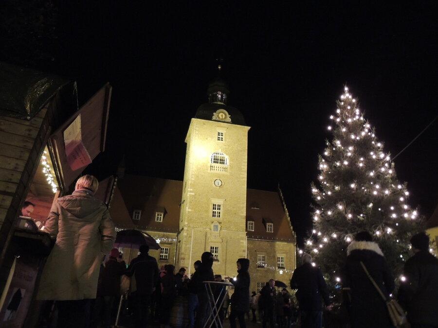 Querfurt Weihnachtsmarkt.Stadt Querfurt Querfurter Weihnachtszauber