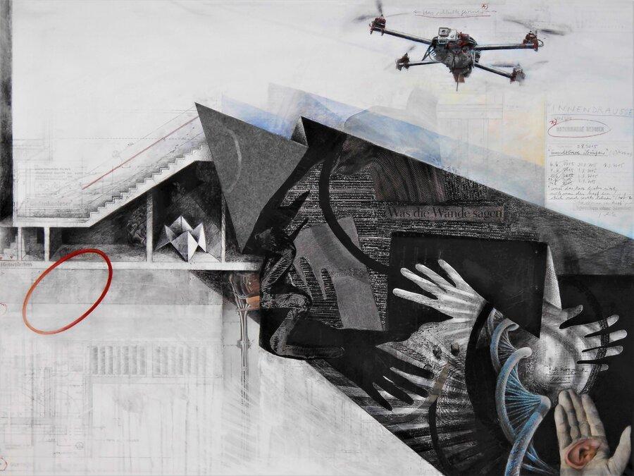 Die innere Stimme - 90 x 120 cm, 2015