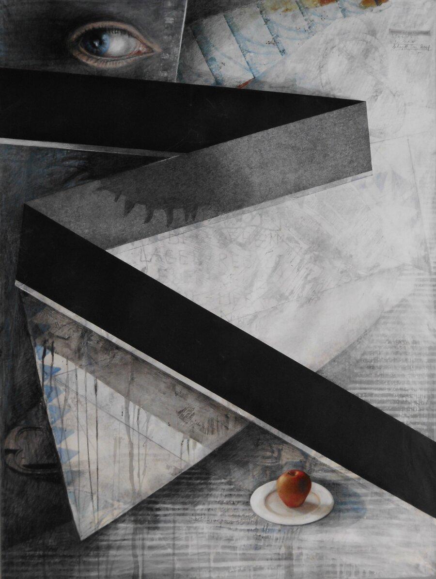Eva - 120 x 90 cm, 2014