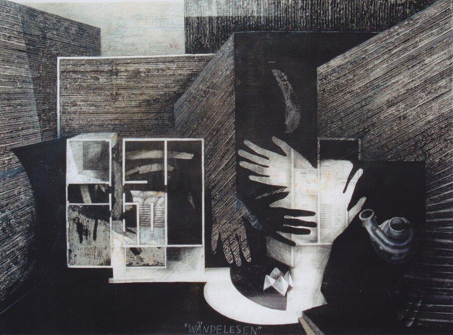 Wändelesen - 90 x 120 cm, 2010