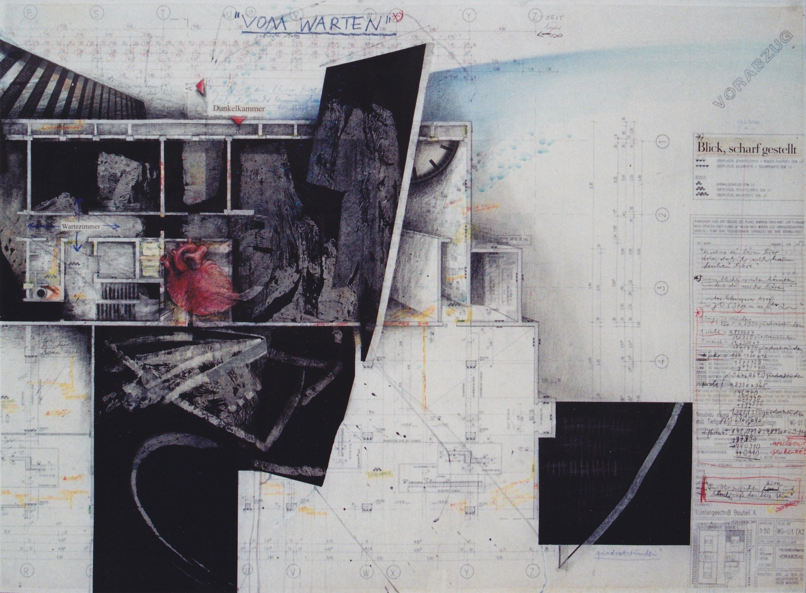 """""""Wartezimmer"""", 90 x 120 cm, 2010"""
