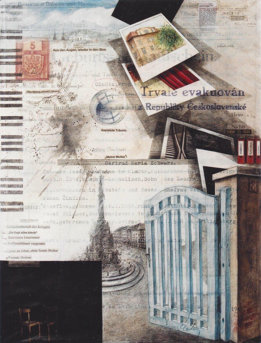 Spurensuche - 120 x 90 cm, 2009