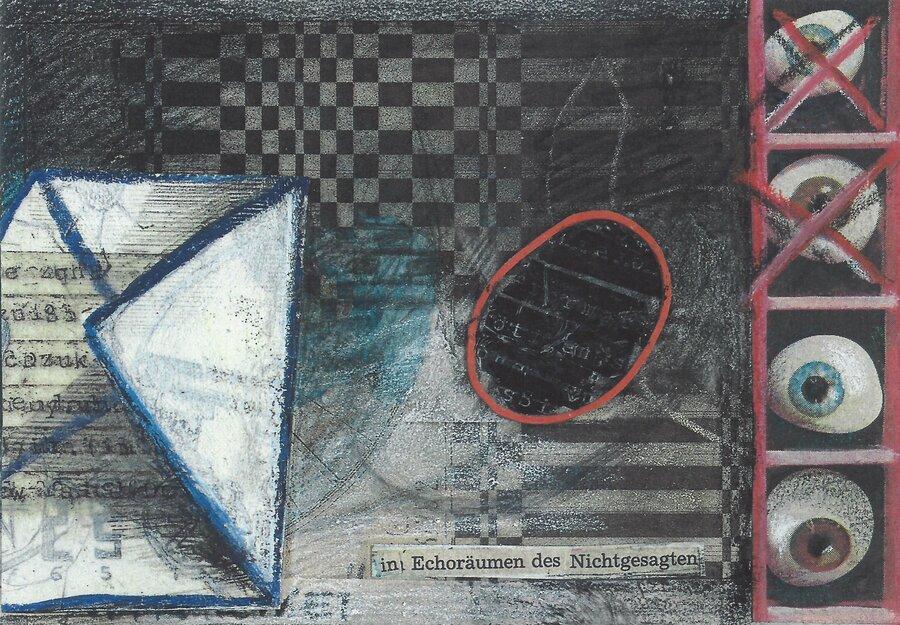 Selbstgespräch - 10,5 x 14,5 cm, 2009