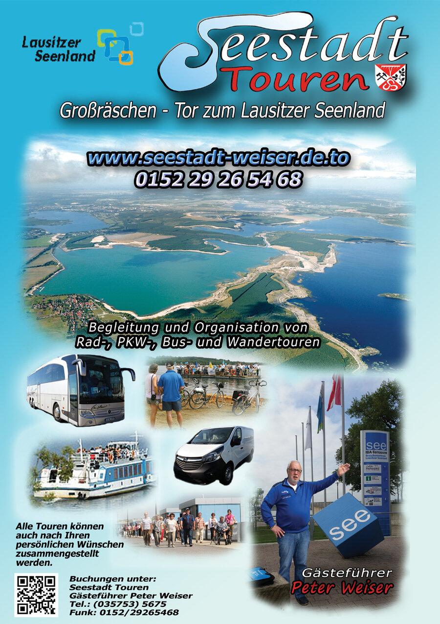 Plakat Seestadt Touren