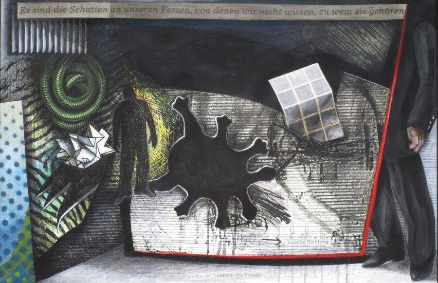 Zimmer -  Acryl auf Leinwand, 60 x 90 cm, 2008