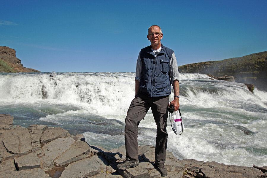 Wolfgang Fauck Foto (auf Island): Rüdiger Ulrich