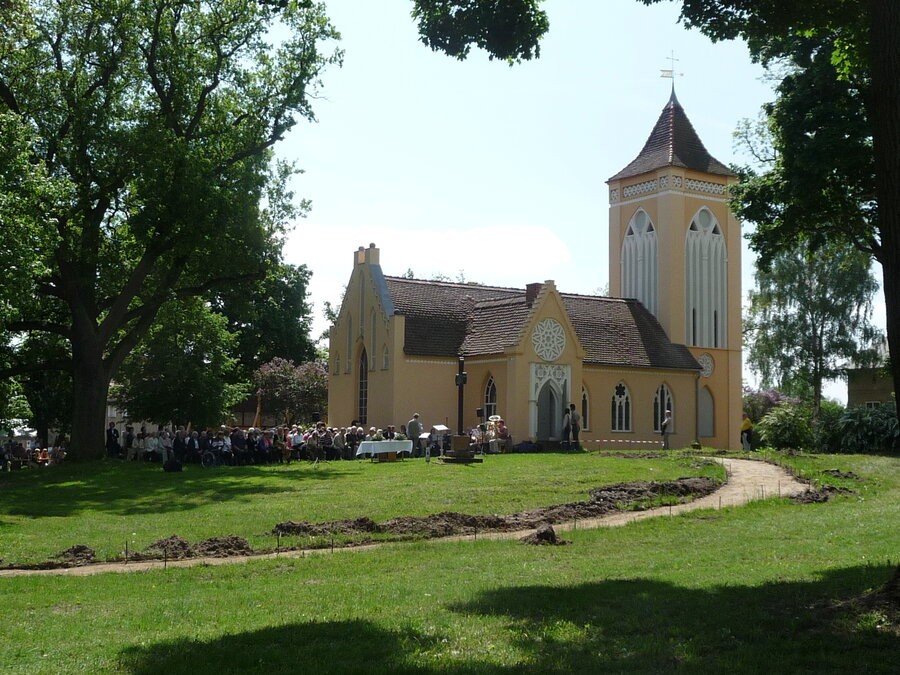 Pfingstgottesdienst 2010
