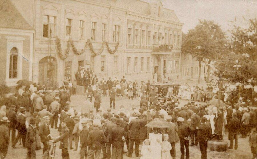 Feuerwehrfest 1911, ©Stephan Becker, Brüssow