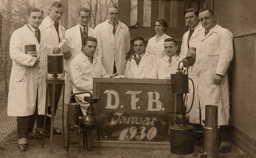 Abschluss der Destillateurfachschule Berlin, ©Stephan Becker, Brüssow