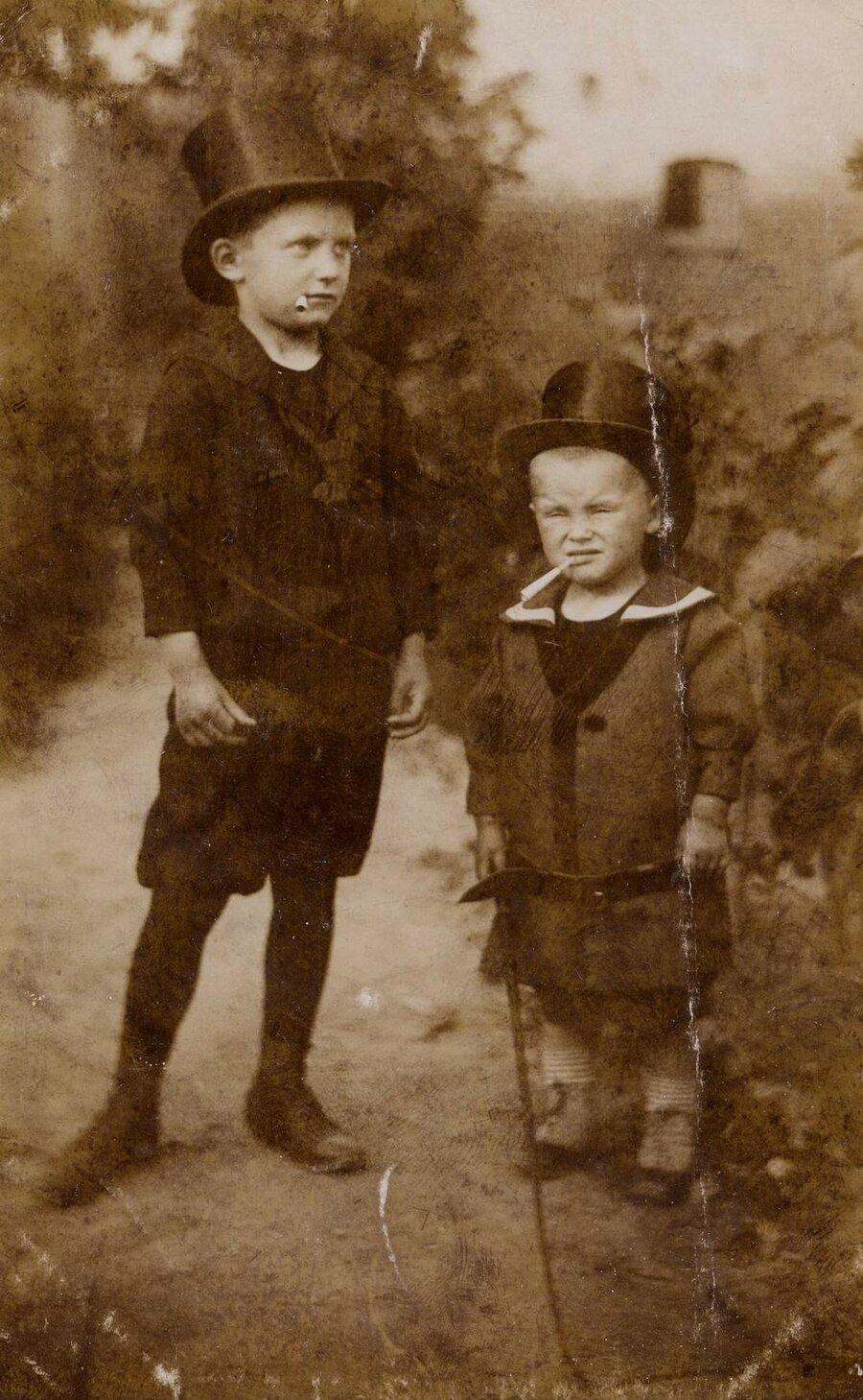 Walter & Herbert Richter, ©Stephan Becker, Brüssow