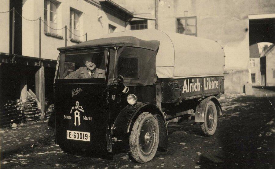 Lieferwagen Goliath Atlas 1932, ©Stephan Becker, Brüssow