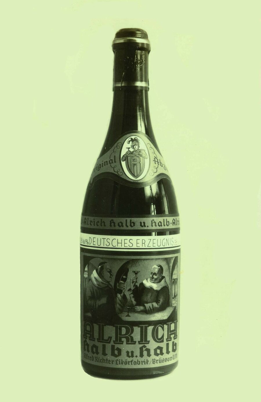 Flasche Halb & Halb, ©Stephan Becker, Brüssow