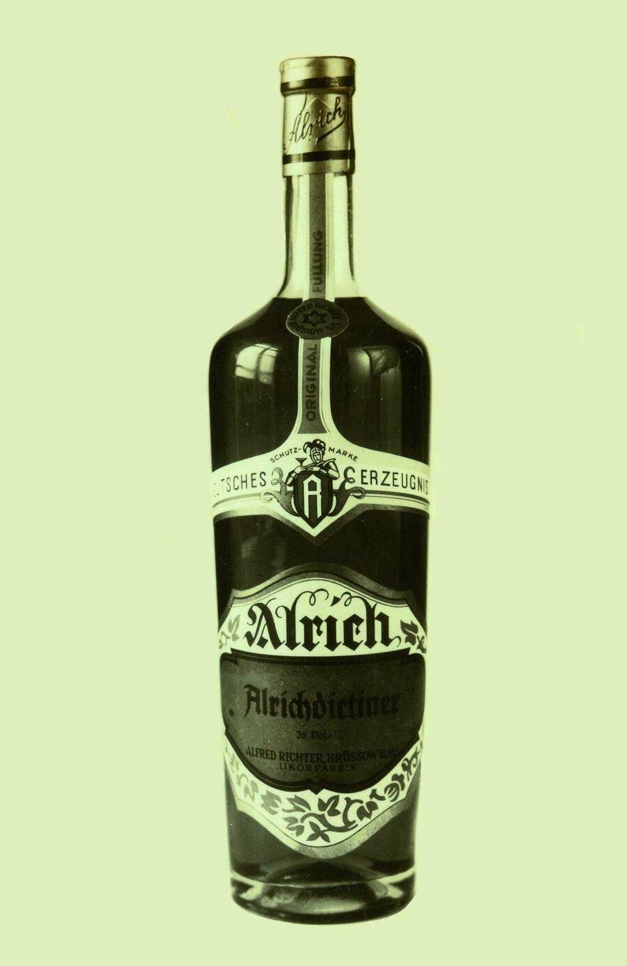 Flasche Alrichdictiner, ©Stephan Becker, Brüssow