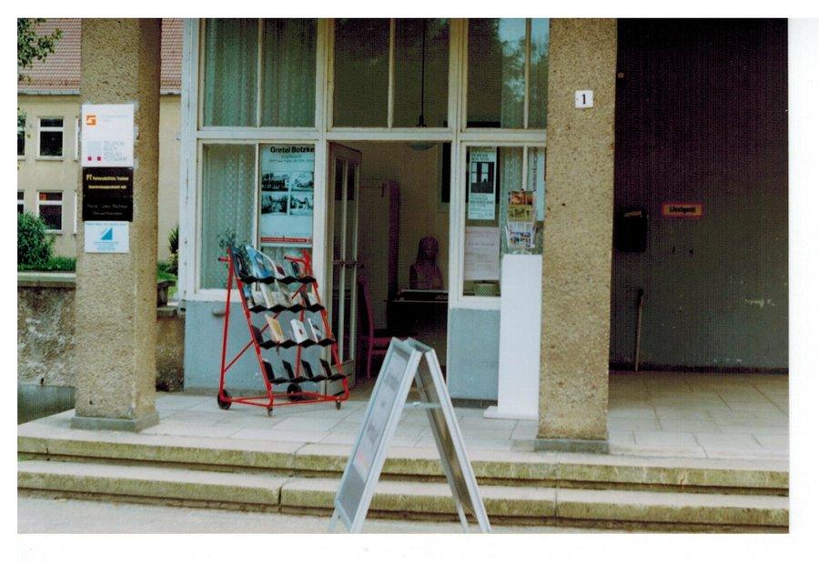 Margarete Botzke Ausstellung in der ehemaligen Pförtnerloge - heute Museumsshop