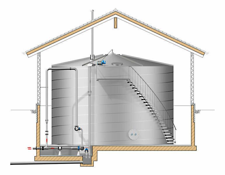 Trinkwasserversorgungtrinkwasserspeicher-im-holzgebaeude