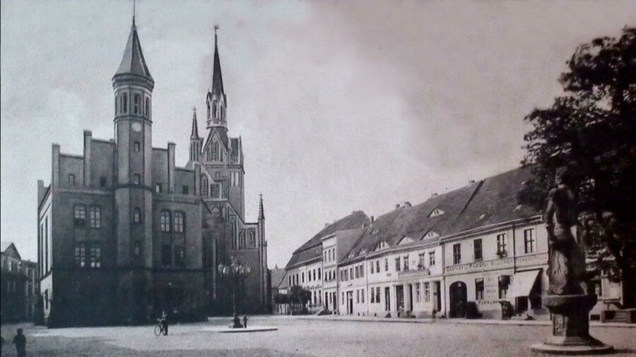 Marktplatz Perleberg mit Blick auf Roland/Rathaus/Kirche | Foto: privat
