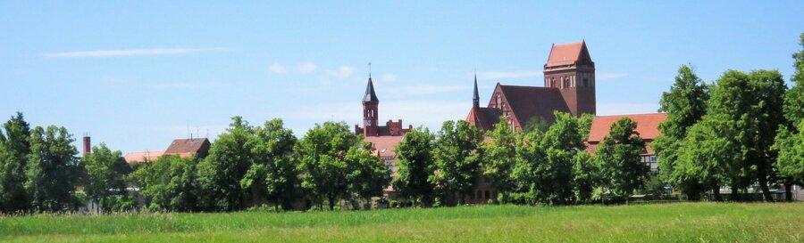 Blick auf die Stadtsilhoutte von Perleberg | Foto: Stadt Perleberg