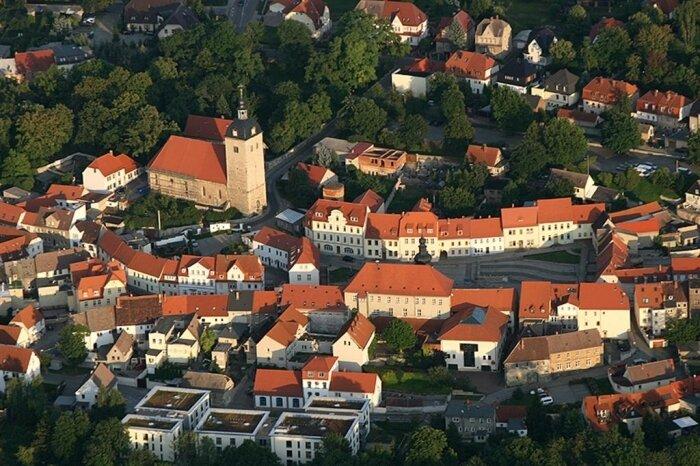 Blick auf den historischen Stadtkern