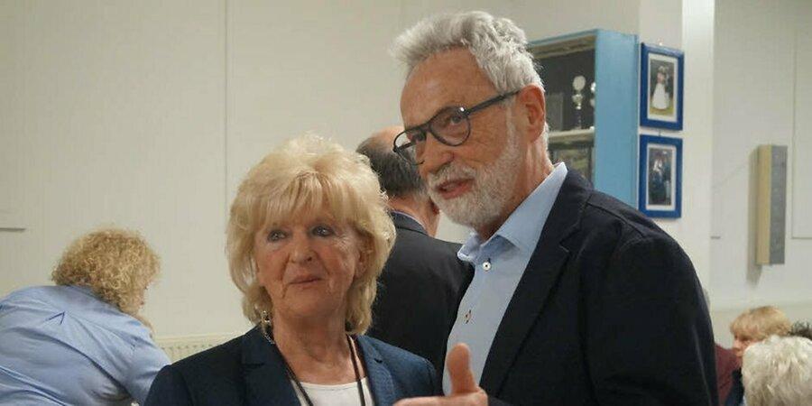 Karin Breuer und Heinz Köllen