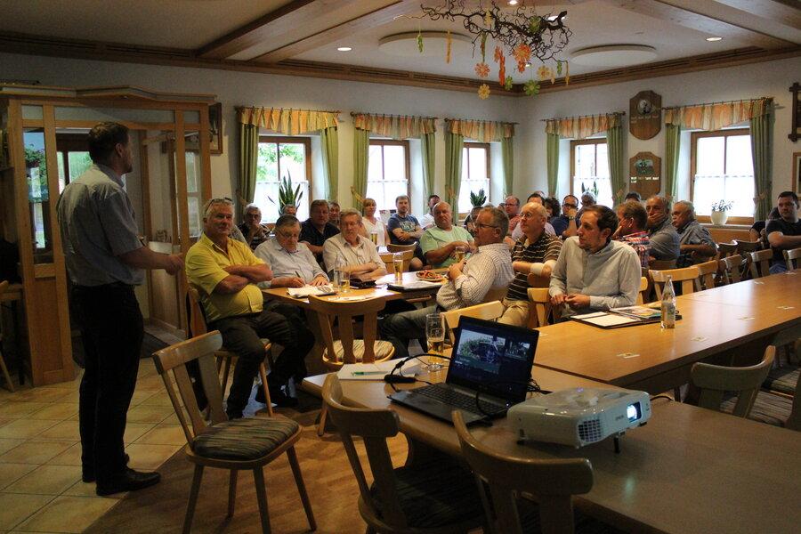 Lenkungsausschuss in Frankenhofen