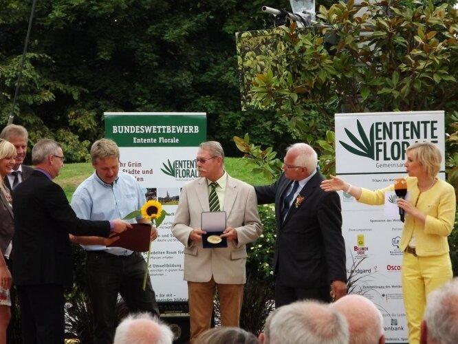 Preisverleihung im ZDF Fernsehgarten