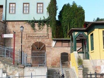 Eingang zum Steinwegkeller  Foto: A. Schieferdecker