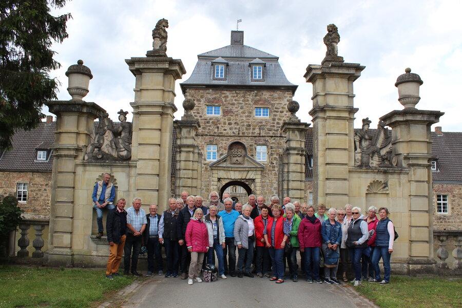 Schloss Lembeck im Juni 2019
