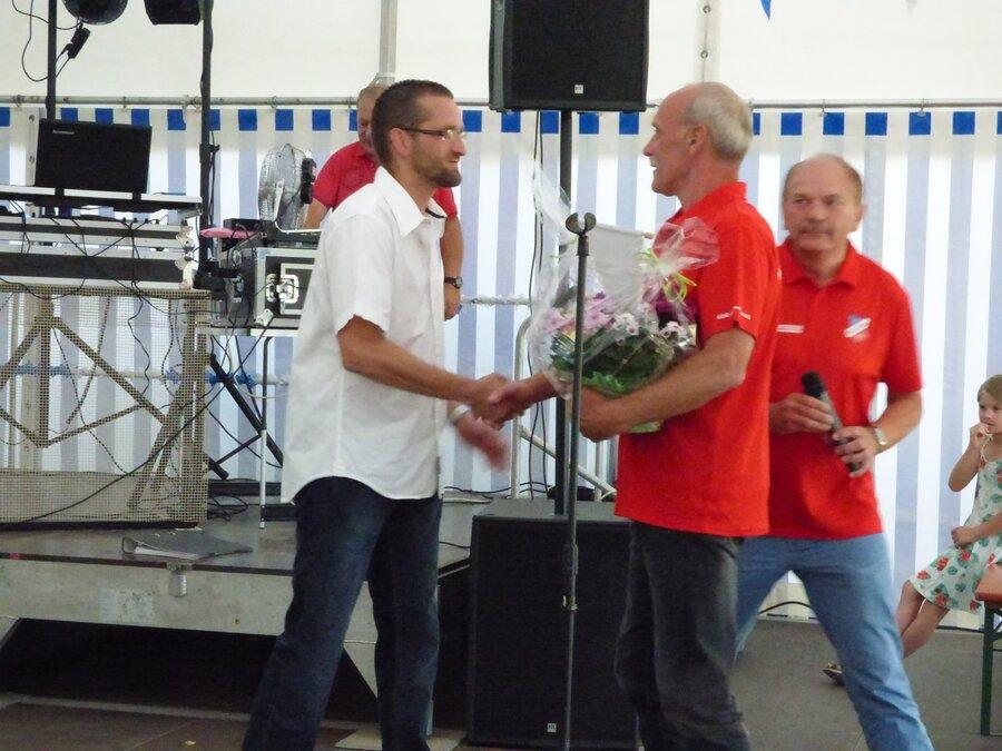 und Gratulationen. 70 Jahre TSV Eggersdorf.