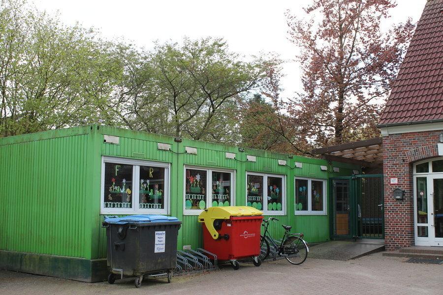Container als Klassenraum