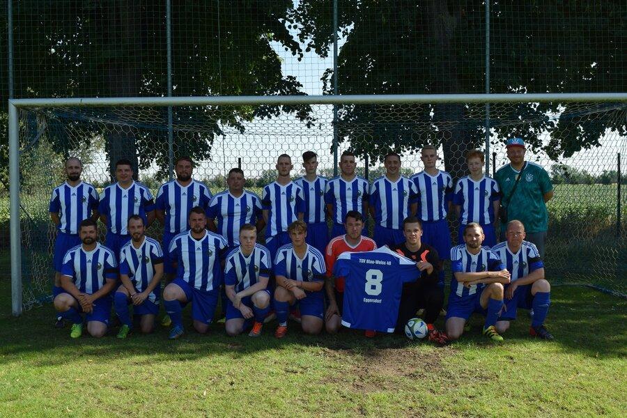 Herrenmannschaft. 70 Jahre TSV Eggersdorf.