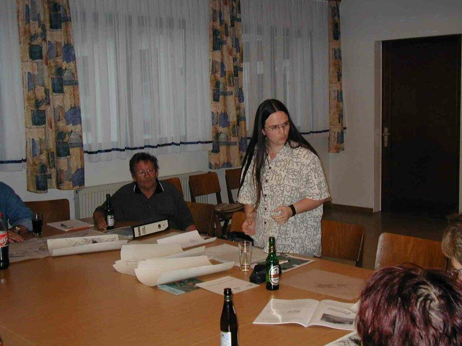 Arbeitsgruppensitzung in Eulersdorf