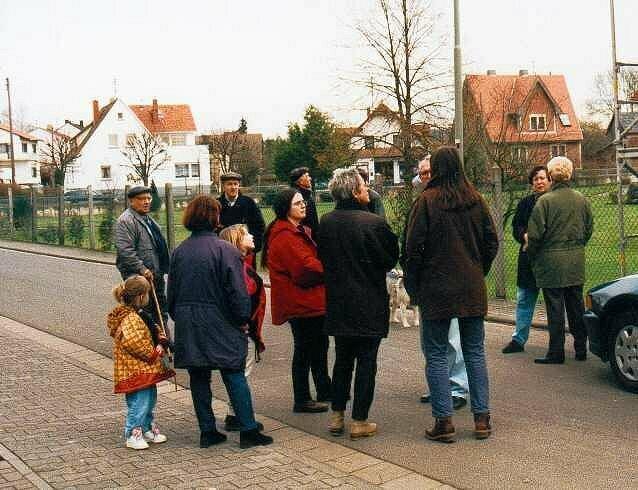 Ortsbegehung in Bingenheim