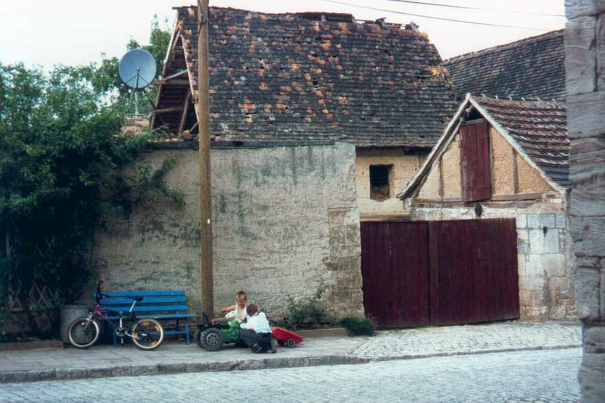 Sanierungsbedürftige Gebäude in Sachsen-Anhalt