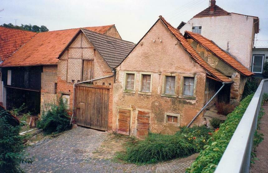 Leerstehende Gebäude in Abtweiler