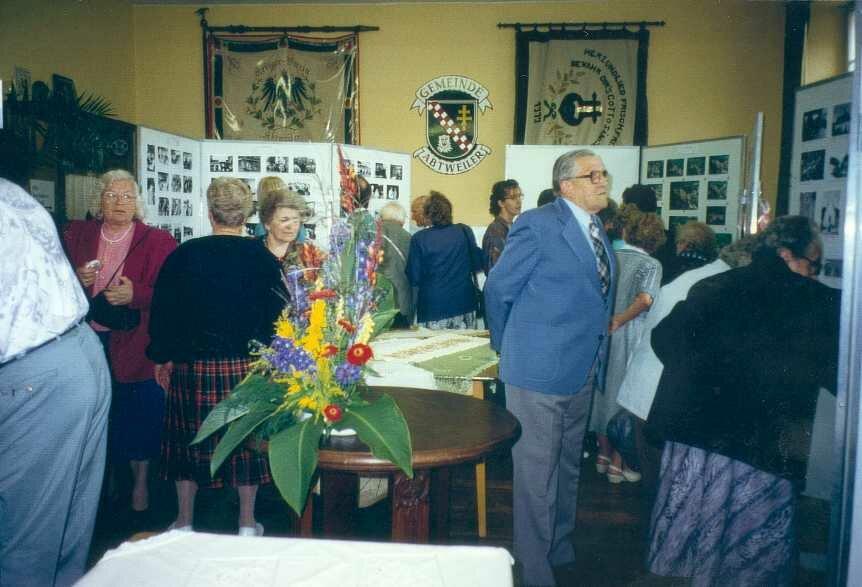 Ausstellung alter Fotos in Abtweiler