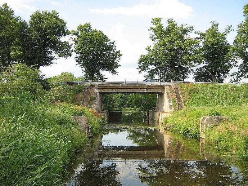 Die alte Brücke an der Schleuse, vor 2008