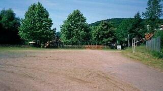 Der Festplatz soll im Rahmen einer Neugestaltung des Dorfmittelpunktes aufgewertet werden