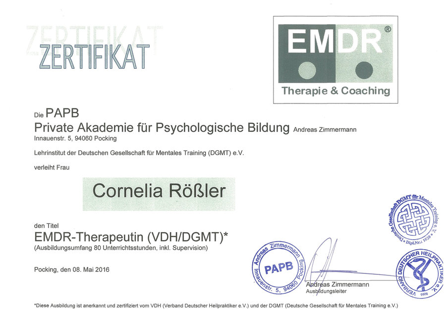 Zertifikat_EMDR-Therapeutin