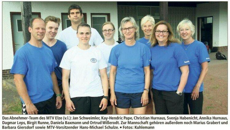 LDZ 01.06.2018 Sportabzeichen Gruppenfoto